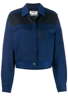 Acne Studios workwear-inspired cropped jacket