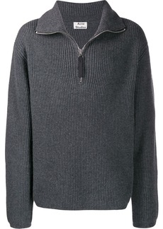 Acne Studios zip-up sweater