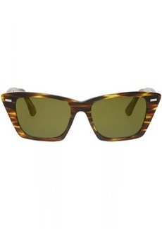 Acne Tortoiseshell Ingridh Cat Eye Sunglasses