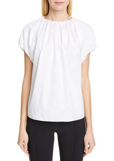Adam Lippes Cotton Poplin Top