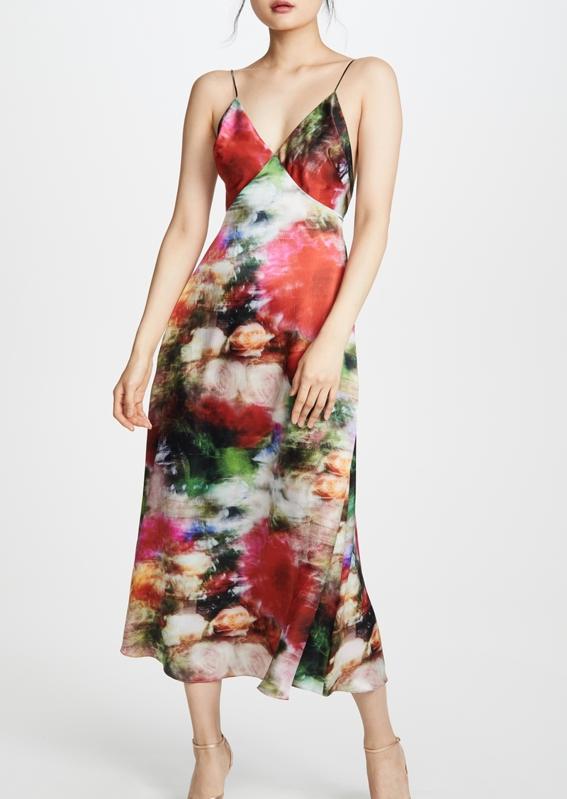 Adam Lippes Hammered Silk Cami Dress