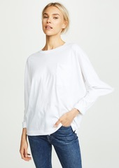 Adam Lippes Long Sleeve Pocket Tee