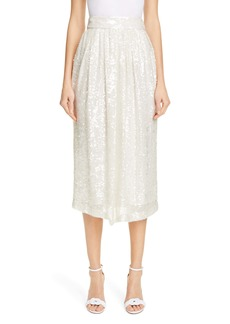 Adam Lippes Sequin Skirt