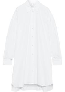 Adam Lippes Woman Cotton-poplin Shirt Dress White