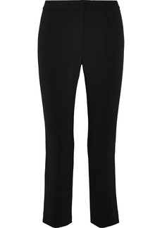 Adam Lippes Woman Cropped Cady Slim-leg Pants Black