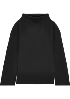 Adam Lippes Woman Merino Wool Top Black