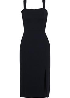 Adam Lippes Woman Stretch-crepe Dress Black