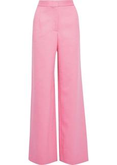 Adam Lippes Woman Twill Wide-leg Pants Bubblegum