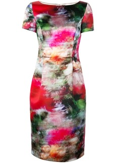 Adam Lippes all-over print dress