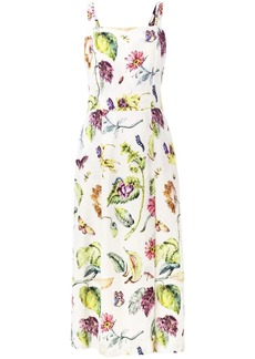 Adam Lippes botanical print dress