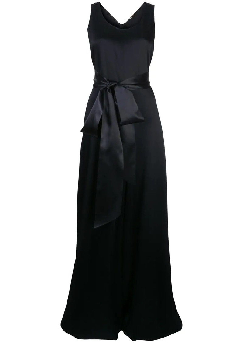 Adam Lippes bow tie slip dress