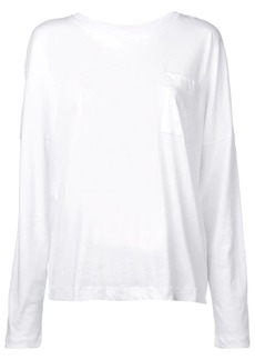 Adam Lippes chest pocket longsleeved T-shirt