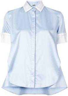Adam Lippes contrast collar shirt