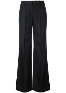 Adam Lippes creased flared trousers