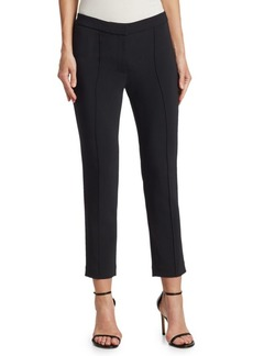 Adam Lippes Cropped Pintuck Pants