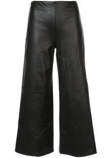 Adam Lippes cropped wide-leg trousers