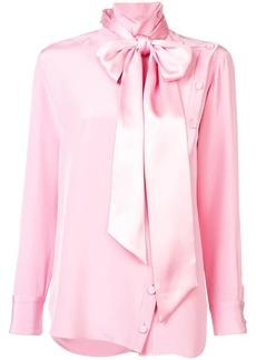 Adam Lippes detachable scarf blouse