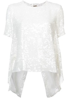 Adam Lippes embroidered shift blouse