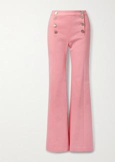 Adam Lippes High-rise Wide-leg Jeans