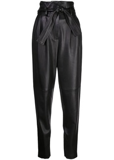 Adam Lippes high-waisted tapered trousers