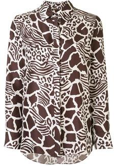 Adam Lippes Menswear Animal Print shirt