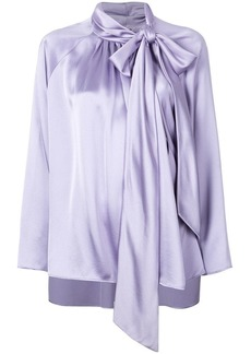 3c1d279958967d Adam Lippes oversized pussybow blouse