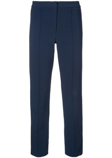 Adam Lippes pintuck cigarette trousers