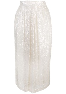 Adam Lippes sequin embellished skirt