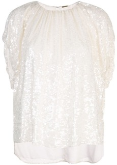 Adam Lippes sequin embellished top