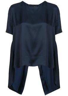 Adam Lippes short-sleeve shift blouse