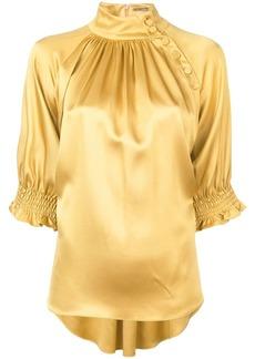 Adam Lippes mockneck blouse
