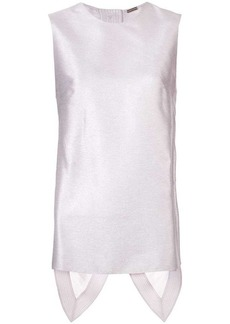 Adam Lippes sleeveless fitted blouse