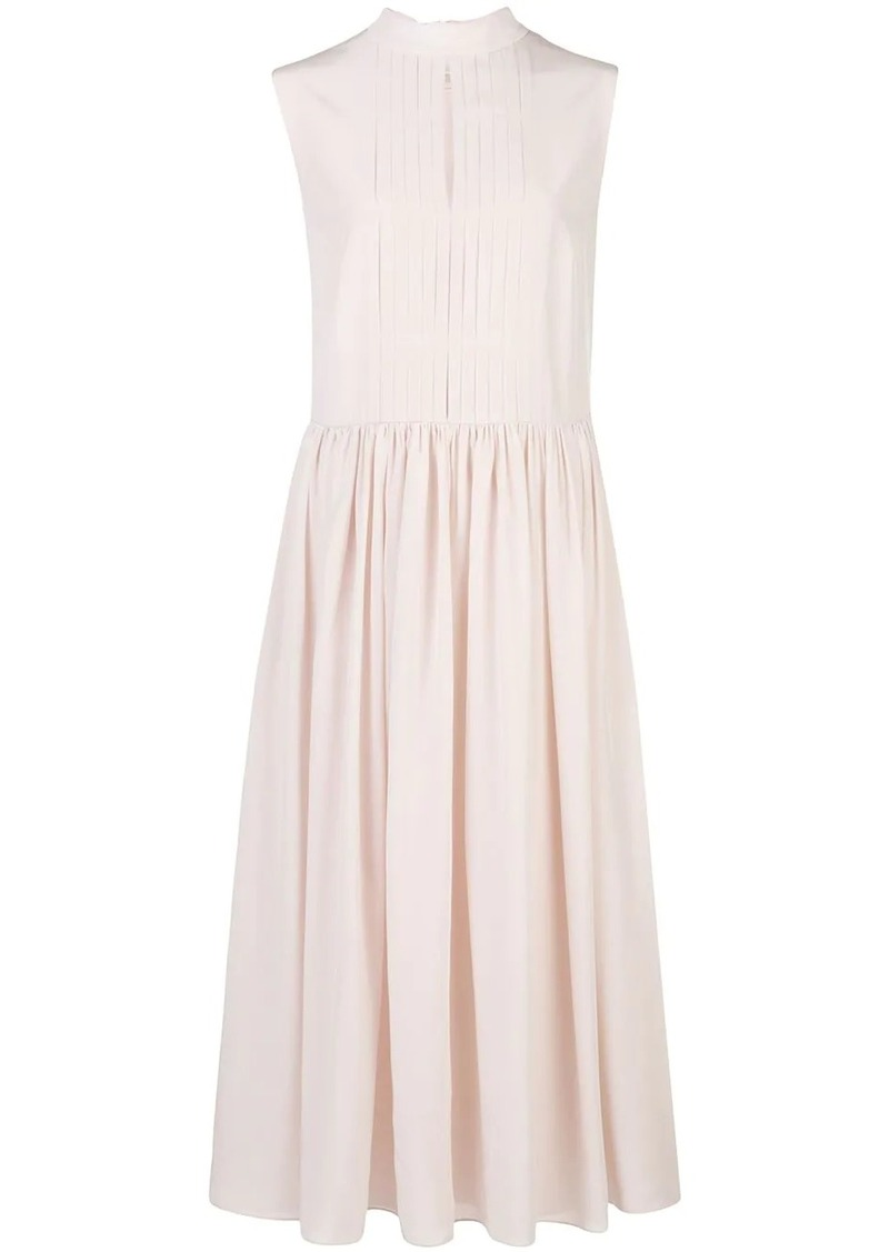 Adam Lippes sleeveless silk dress