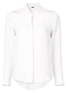 Adam Lippes slit detail shirt