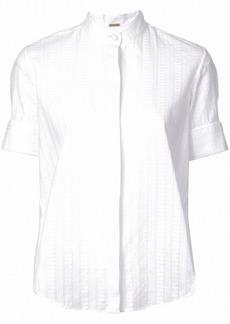 Adam Lippes oversized short-sleeve shirt