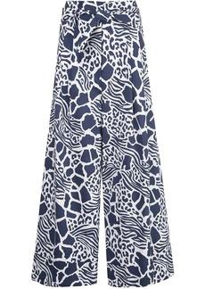 Adam Lippes tie-waist trousers