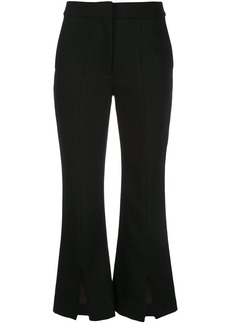 Adam Lippes tropical bell cropped trousers