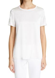 Women's Adam Lippes Silk Stretch Charmeuse T-Shirt