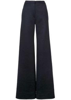 Adam Lippes Zibelline wide-leg trousers