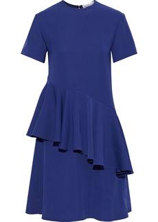 Adeam Woman Ruffled Cady Dress Navy