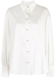 Adeam Camellia pleated poplin shirt