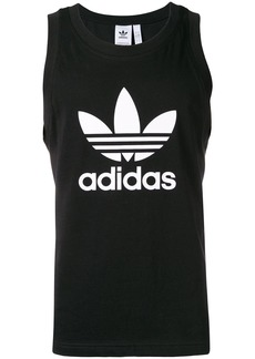 Adidas Trefoil logo tank top