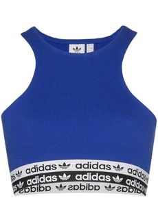 Adidas logo band sports-bra