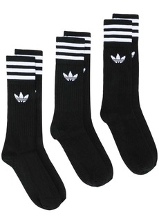 Adidas 3 pack Solid crew socks