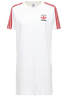 Adidas 3-s England Cotton T-shirt Dress