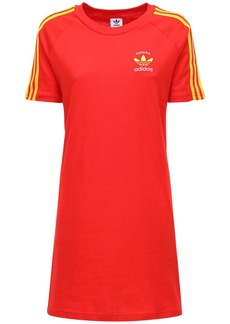 Adidas 3-s Spain Cotton T-shirt Dress