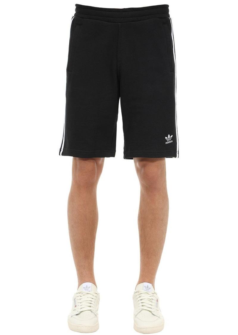 Adidas 3-stripe Cotton Shorts