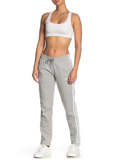 Adidas 3 Stripe Drawstring Sweatpants