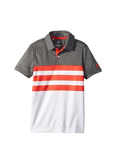 Adidas 3-Stripe Fashion Polo (Big Kids)