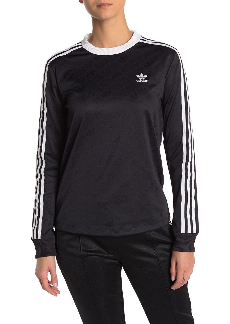 Adidas 3-Stripe Long Sleeve T-Shirt